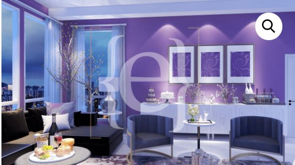 #MYZOOMROOM Event Space 1 by Northern Lights Home Staging and Design