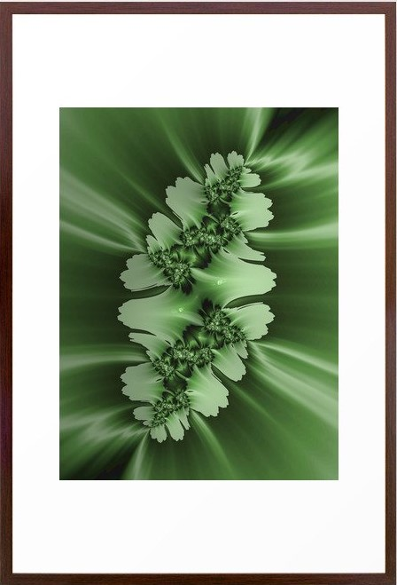 Spring #2 Fractal Art by Northern Lights Home Staging and Design