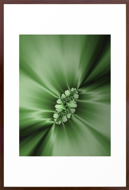 """Spring"" custom Fractal Art by Northern Lights Home Staging and Design"