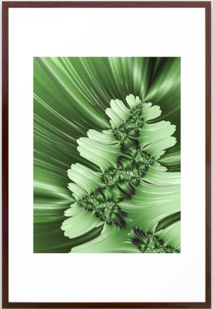 Spring #3 Fractal Art by Northern Lights Home Staging and Design