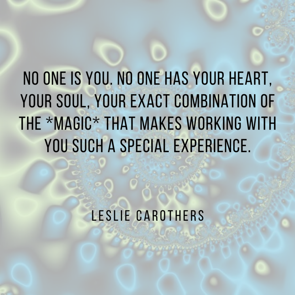 Quote by Leslie Carothers