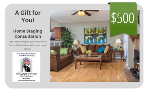 Home Staging Consultation Gift Card
