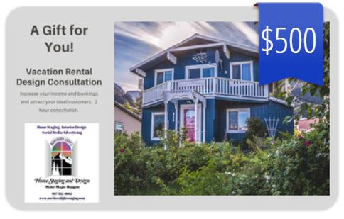 Vacation Rental Staging Consultation Gift Card