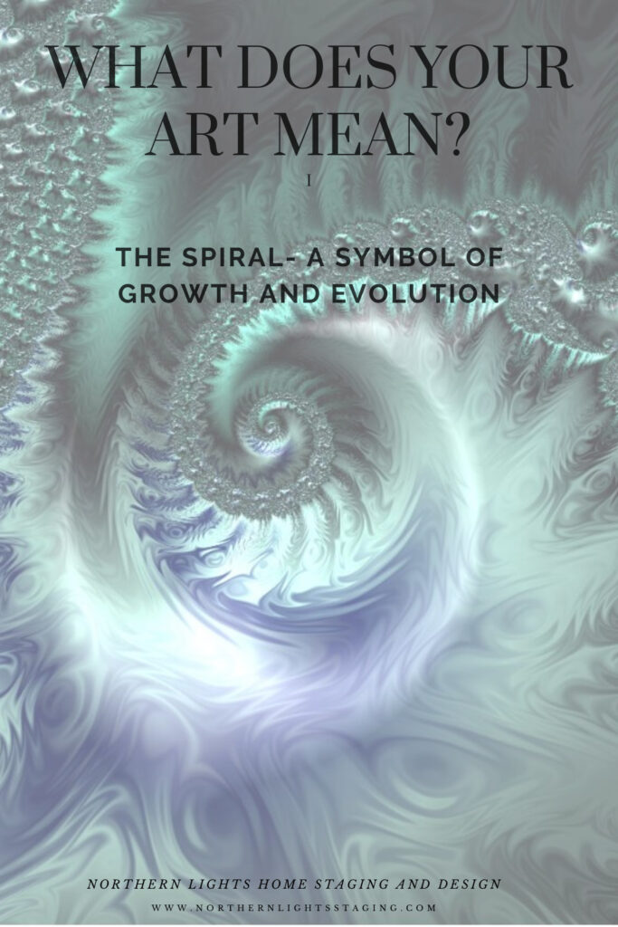 What does your art mean? Why not pick a powerful symbol like the spiral. Learn its meaning and see my spiral fractal art designs.