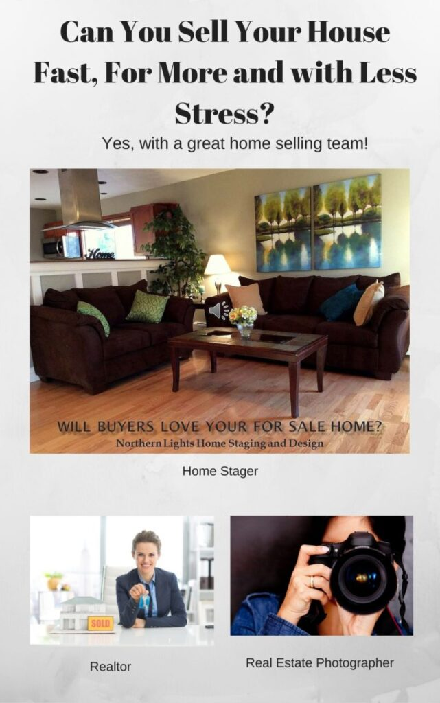 Sell Your Home Faster, For More and With Less Stress by Northern Lights Home Staging and Design