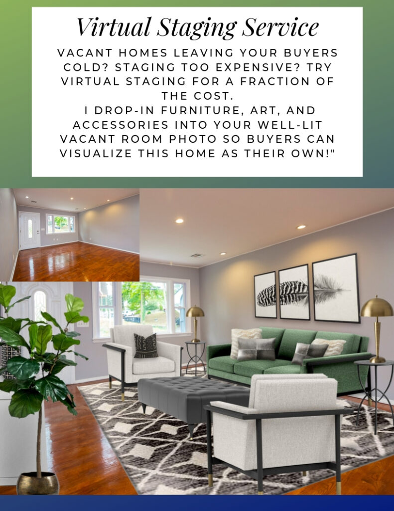 Virtual Home Staging by Northern Lights Home Staging and Design