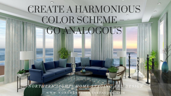 Create a Harmonious Color Scheme- Go Analogous