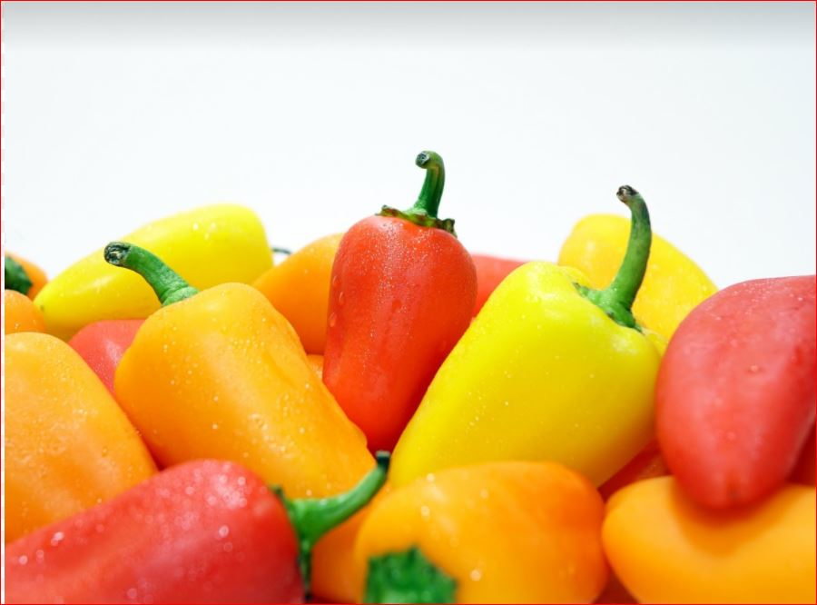 peppers-analogous colors