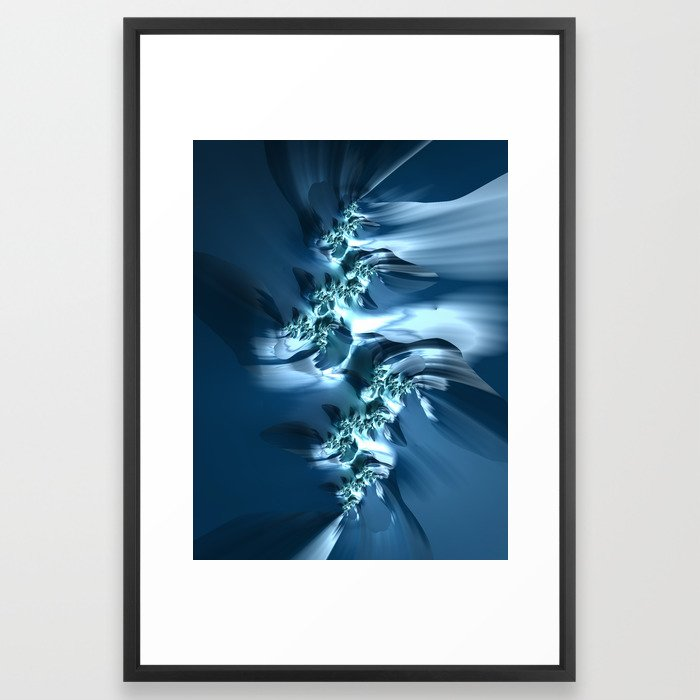 The Sea #3 fractal art by Northern Lights Home Staging and Design
