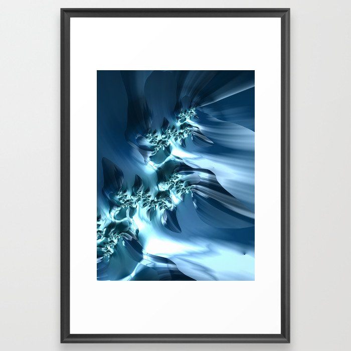 The Sea #2 fractal art by Northern Lights Home Staging and Design