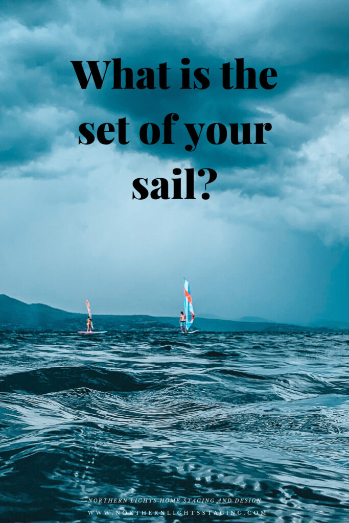 From my perspective, this pandemic has separated people into two groups. Those that have figured out ways to thrive or at least remain positive, and those who have not. I am in the first boat. I could have easily been in the second boat though if I had made a few different choices. One big choice is the set of your sail.