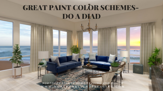 Great Paint Color Schemes- Do a Diad