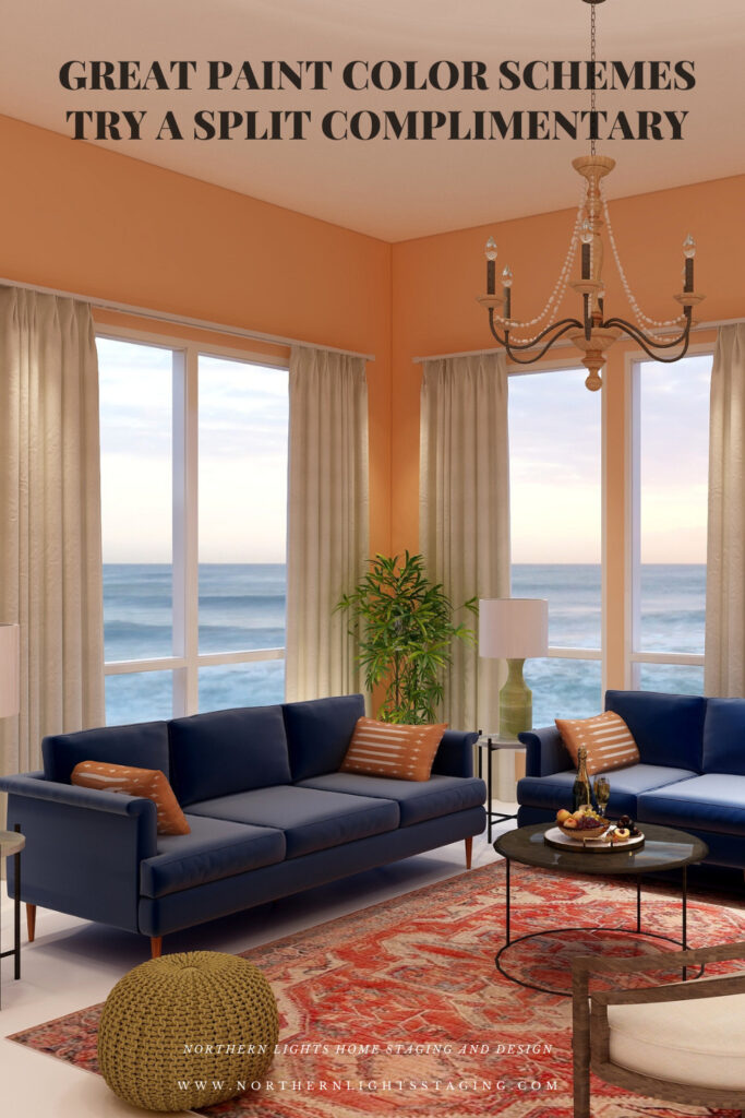 Great Paint Color Schemes- Try Split Complimentary