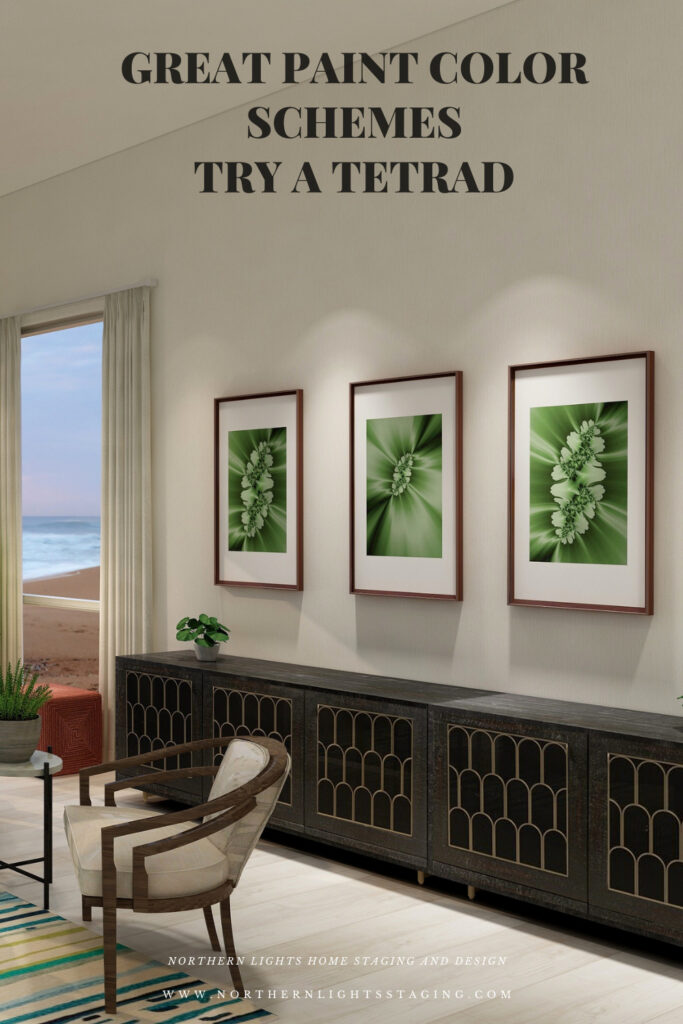 Great Paint Color Schemes- Try a Tetrad