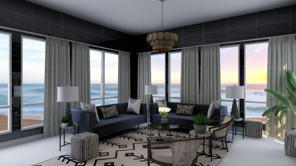 Great Color Schemes- Try Black, White and Shades of Gray