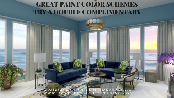 Great Paint Color Schemes- Try a Double-Complimentary