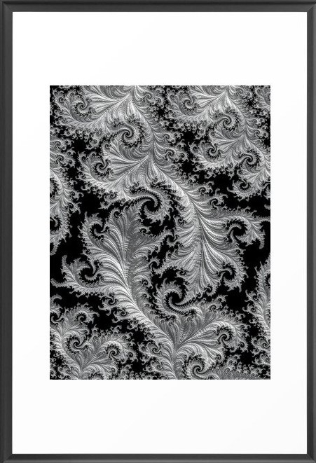 Lacey Fractal Art by Northern Lights Home Staging and Design