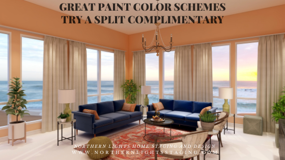 Great Paint Color Schemes- Try a Split-Complimentary