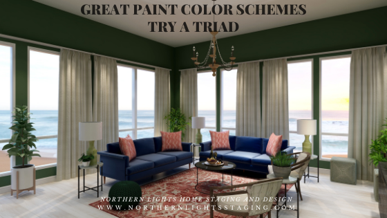Great Paint Color Schemes- Try a Triad
