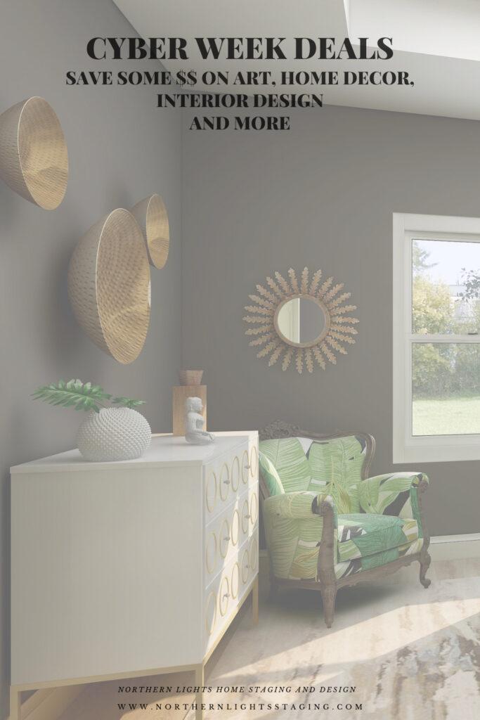 Cyber Week Deals on Fractal Art Home Decor and Interior Design