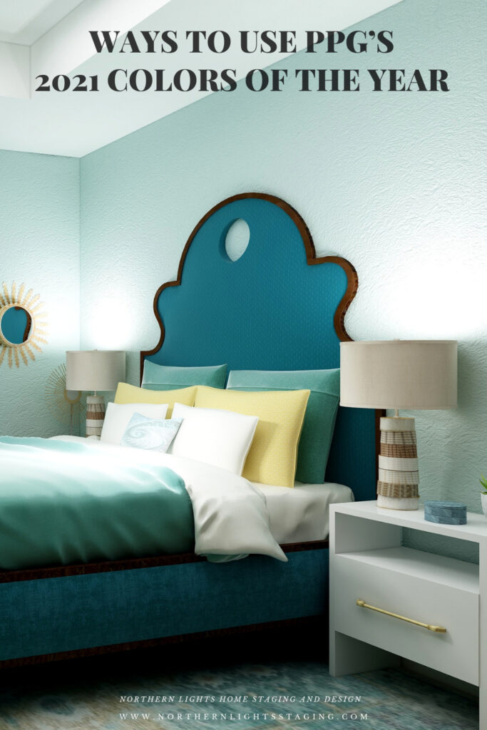 Ways to Use PPG's 2021 Colors of the Year