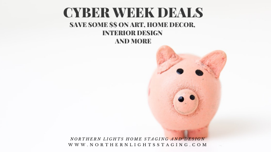 Cyber Week Deals on Home Decor and Interior Design