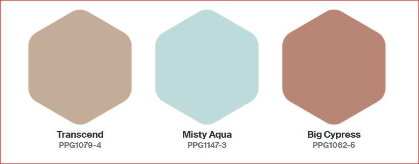 PPG's 2021 Colors