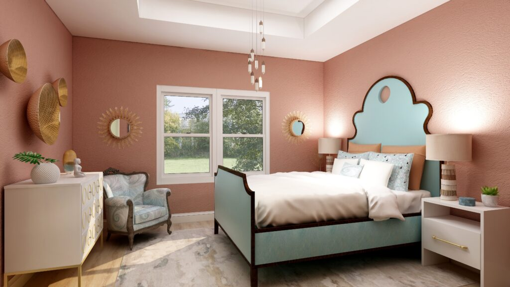 PPG's 2021 Colors of the Year with Big Cypress on the walls