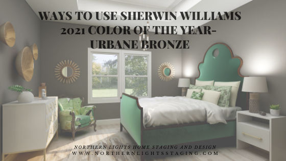 Ways to Use Sherwin Williams 2021 Color of the Year- Urbane Bronze
