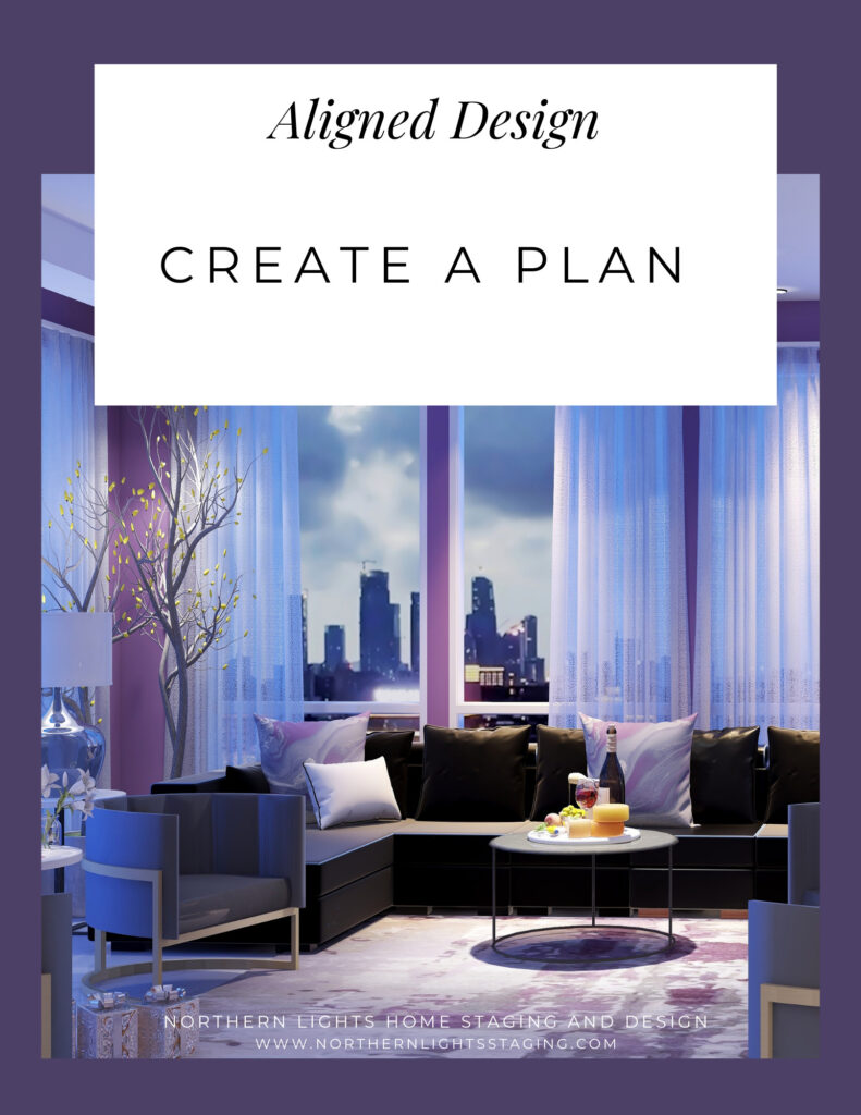 Aligned Design- Create a Plan