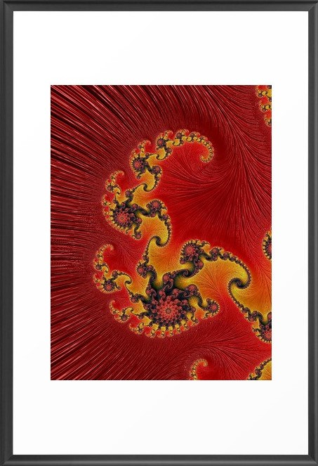 Great Conjunction 1 Fractal Art by Northern Lights Home Staging and Design
