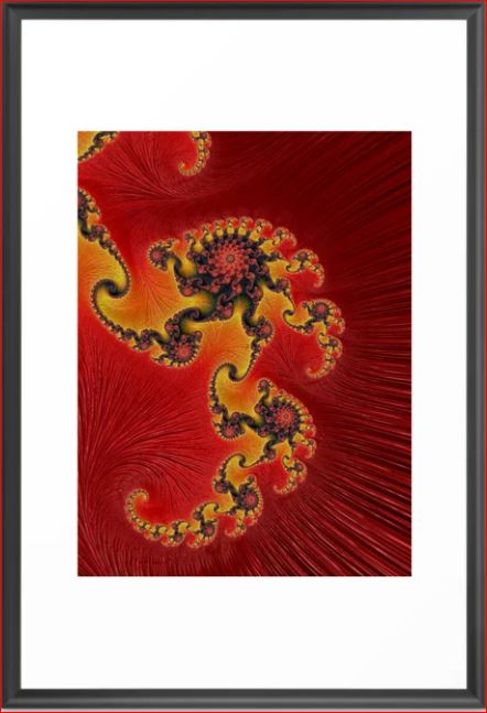 Great Conjunction 3 Fractal Art by Northern Lights Home Staging and Design