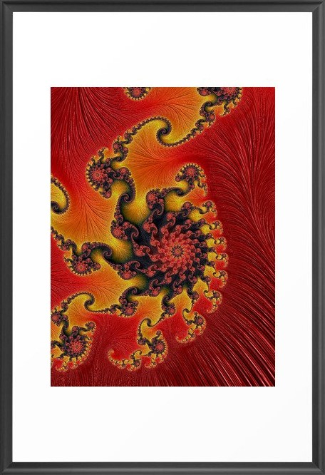 Great Conjunction 2 Fractal Art by Northern Lights Home Staging and Design