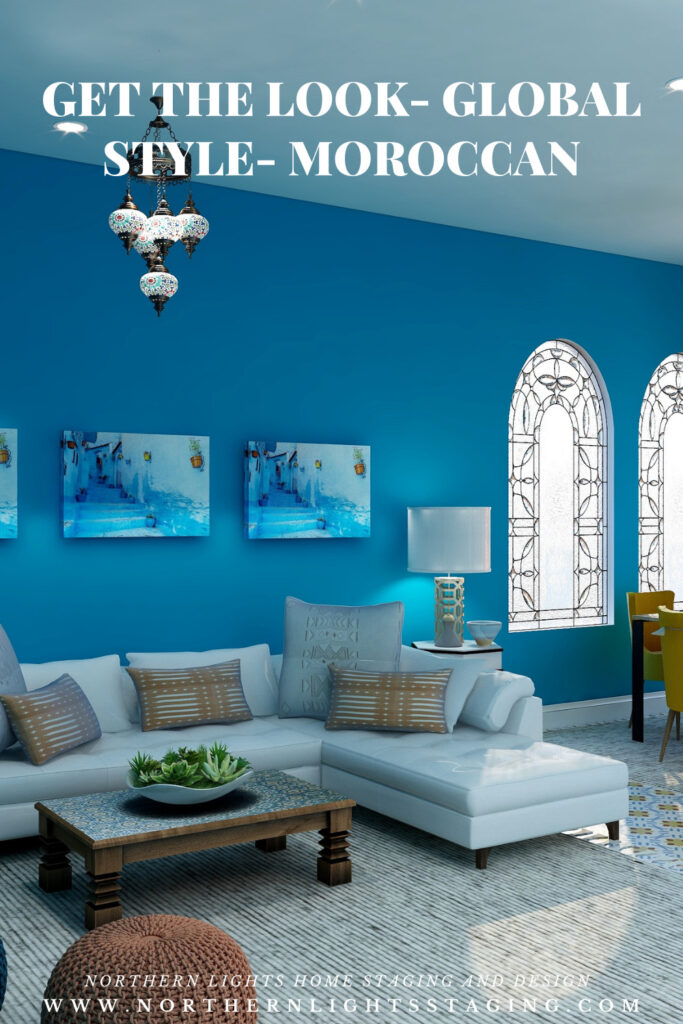 Get the Look- Global Style- Moroccan