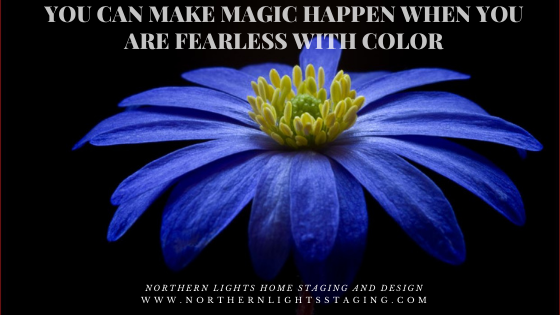Make Magic Happen When You are Fearless with Color