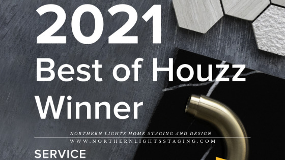 Northern Lights Home Staging and Design awarded Best of Houzz 2021 for Customer Service