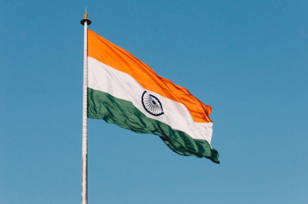 India flag. Photo by Naveed Ahmed on Unsplash