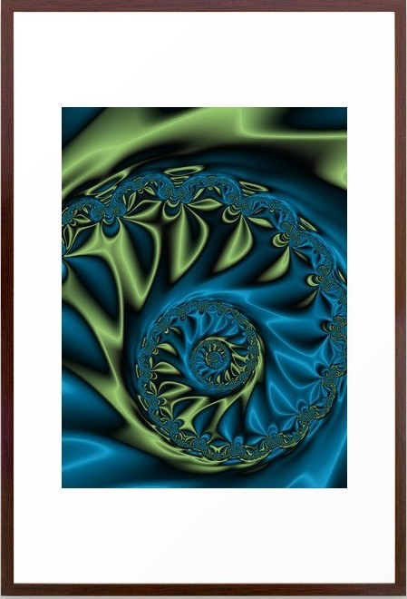 Bioluminescence 3 Fractal Art by Northern Lights Home Staging and Design