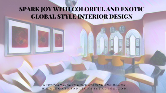 Spark Joy with Colorful and Exotic Global Style Interior Design