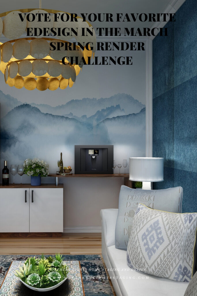 Vote for this Design in the 2021 Edesign Tribe Spring Render Challenge
