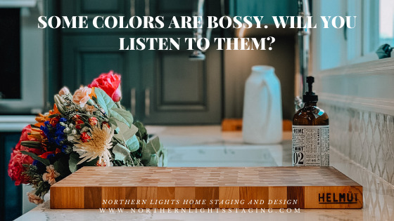 Some Colors are Bossy. Will You Listen to Them?