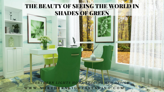 The Beauty of Seeing the World in Shades of Green