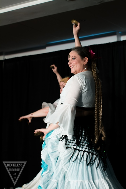 Mary Ann Benoit and Kaleidoperforming at Cues and Tattoos