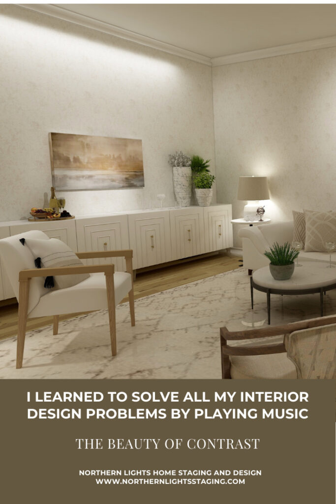 I Learned to Solve all my Interior Design Problems by Playing Music