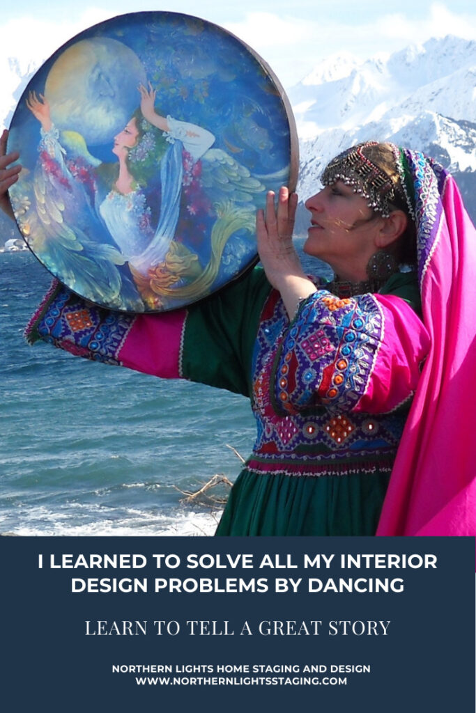 I Learned To Solve All My Interior Design Problems by Dancing and Learning to Tell a Great Story.