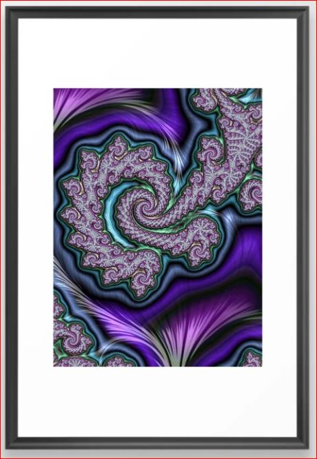 A Passion for Purple 3 by Mary Ann Benoit of Northern Lights Home Staging and Design