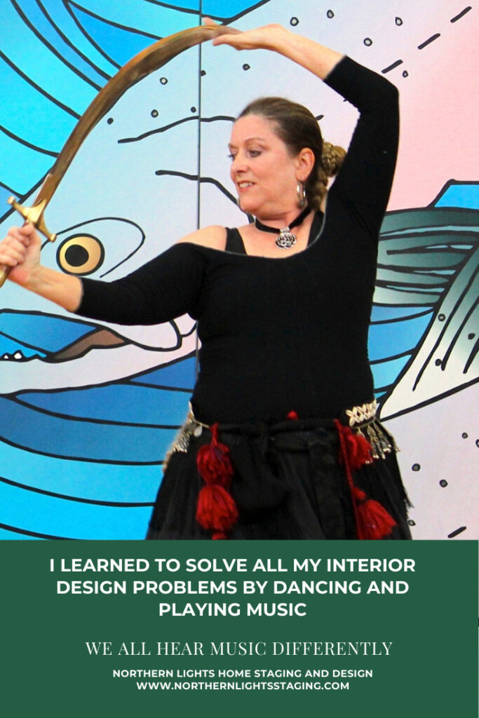 I Learned to Solve All My Interior Design Problems by Dancing and Playing Music- We All Hear Music Differently