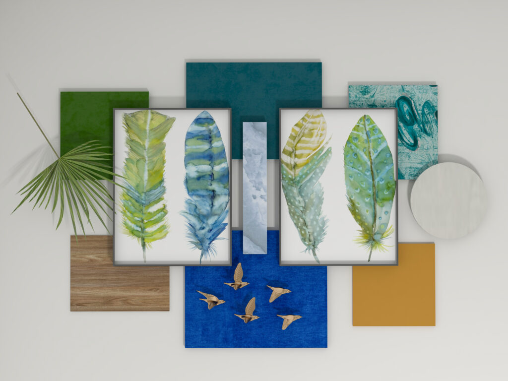 A Flat Lay is a Bird's Eye View of a lot of Magic Possibilities About to Unfold Before You