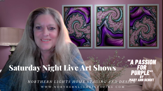 Saturday Night Live Art Shows and A Passion for Purple