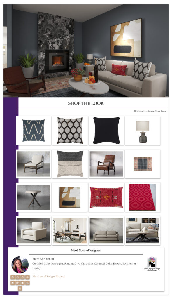 Three Reasons to Change Your Decor in the Fall. Edesign by Northern Lights Home Staging and Design.